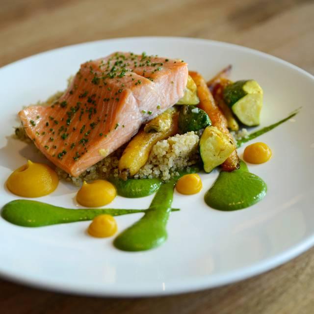 Slow-Baked Salmon - Chop Steakhouse & Bar - Barlow, Calgary, AB