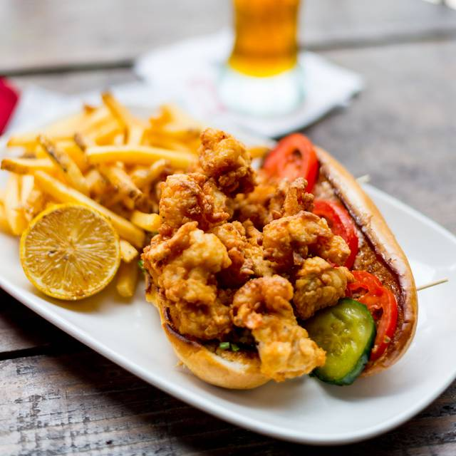 Shrimp Po'boy - House of Blues Restaurant & Bar - San Diego, San Diego, CA