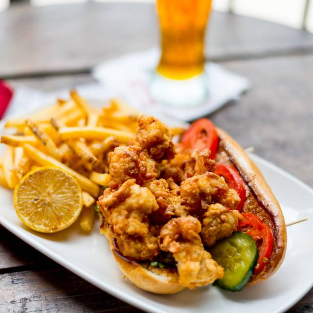 Shrimp Po'boy - House of Blues Restaurant & Bar - Myrtle Beach, North Myrtle Beach, SC
