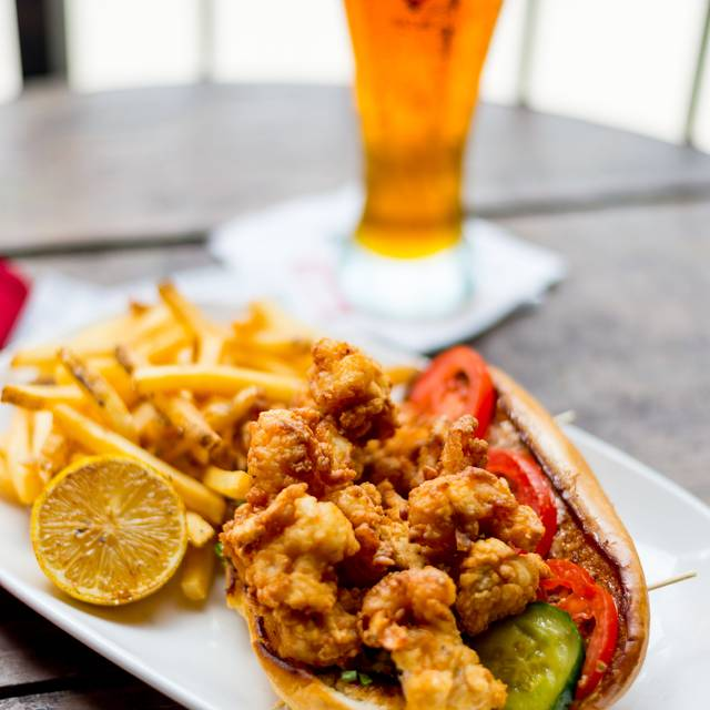 Shrimp Po'boy - House of Blues Restaurant & Bar - Cleveland, Cleveland, OH