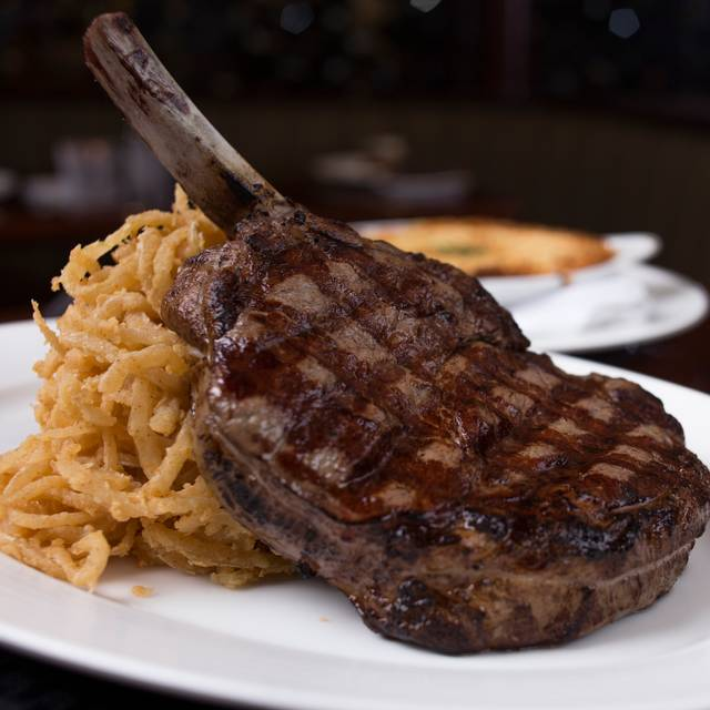 Cowboy Cut Ribeye Kirby S Prime Steakhouse At Winstar World And
