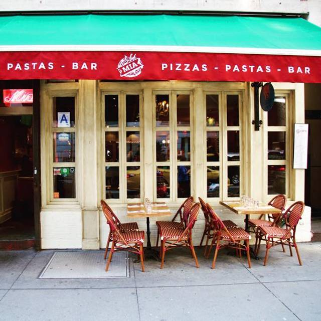 Dauerhaft geschlossen - Mia Caffe Restaurant - New York, NY | OpenTable