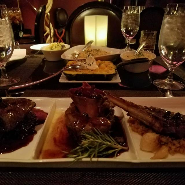 TENDER steak & seafood - Luxor, Las Vegas, NV
