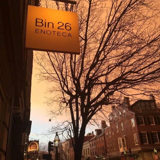Bin 26 Enoteca, Boston, MA