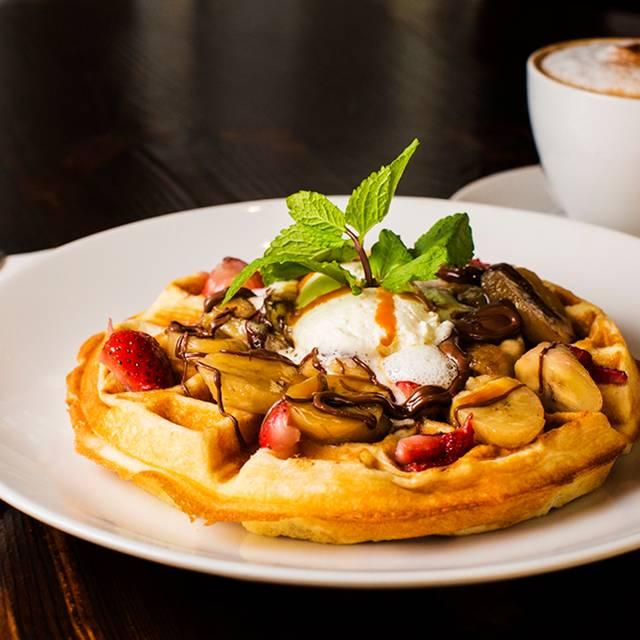 Waffle Cappucino - Bistango Ristorante 29th St., New York, NY