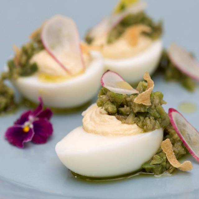 Smoked Trout Deviled Eggs - Blue Plate, San Francisco, CA