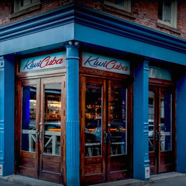 Kiwi Cuba Restaurant New York Ny Opentable