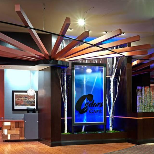 Cedars Cafe at Tulalip Resort Casino, Tulalip, WA
