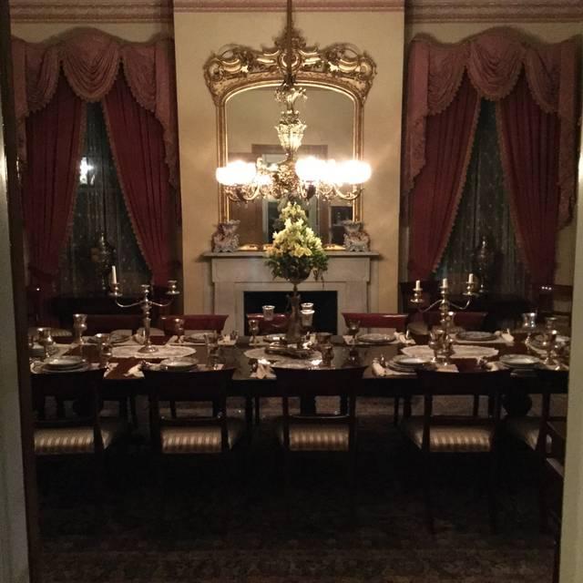 Restaurant 1818 at Monmouth Historic Inn & Gardens, Natchez, MS