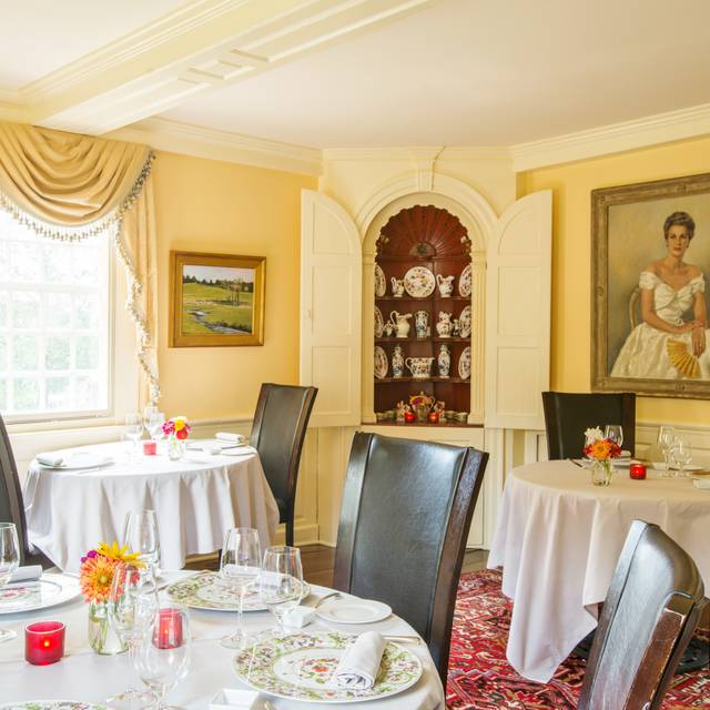 Yellow Room Dining  - Winvian Farm - Winvian Farms, Morris, CT