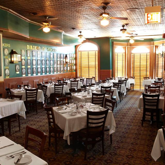 Chicago chop house restaurant chicago il opentable for 0pen table chicago