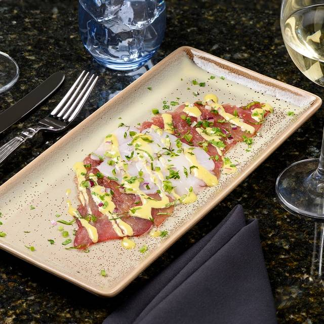 Sushi Grade Tuna & Sea Scallop Carpaccio - Curio, New Orleans, LA