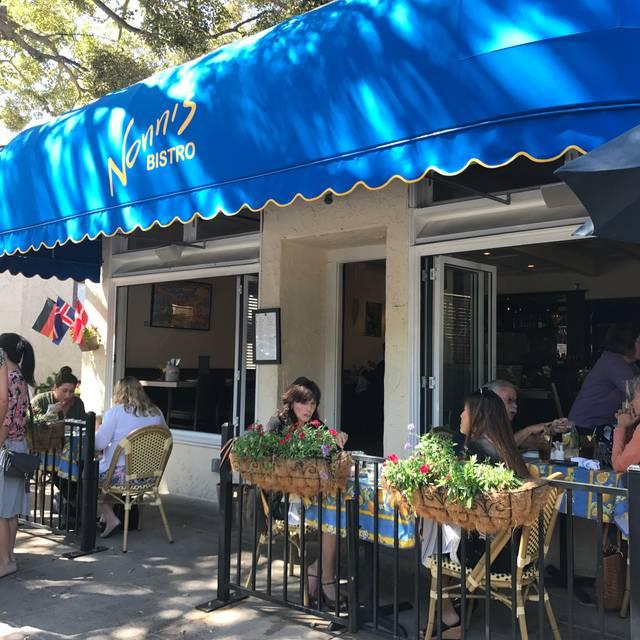 Nonni's Bistro, Pleasanton, CA