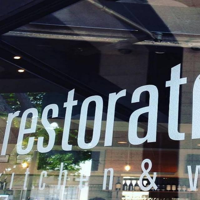Restoration Kitchen and Wine, Torrance, CA