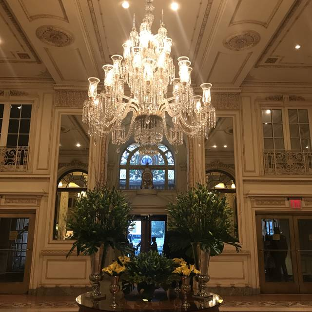 The Palm Court at The Plaza Hotel, New York, NY