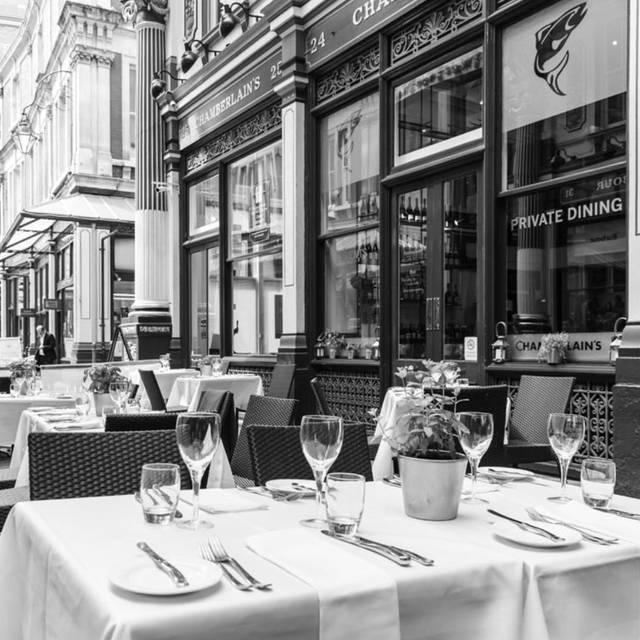 Chamberlain's Restaurant, London