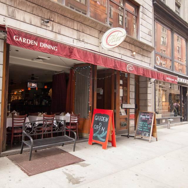 ALEO RESTAURANT GARDEN DINING, New York, NY
