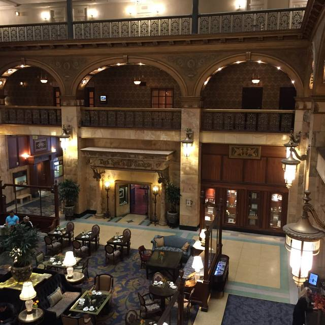 Afternoon Tea at the Brown Palace, Denver, CO