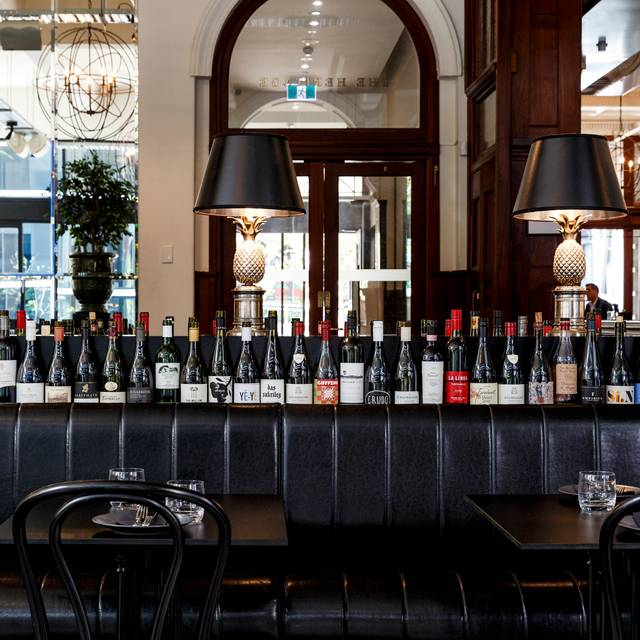 Main Dining - The Heritage Wine Bar, Perth, AU-WA