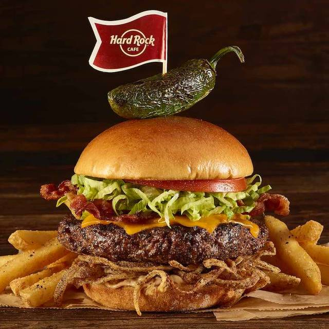 Burger - Hard Rock Cafe - Sydney, Sydney, AU-NSW
