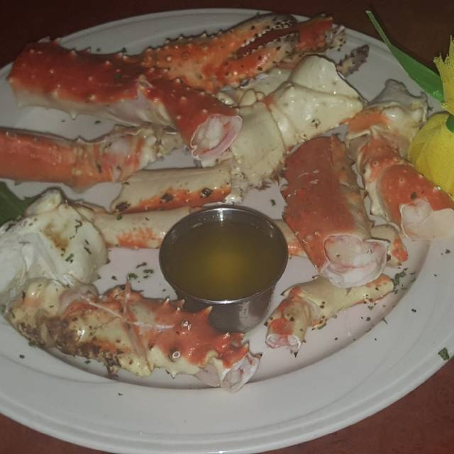 Alazkan Red King Crab Legs - Limani Seafood Grill, Westfield, NJ