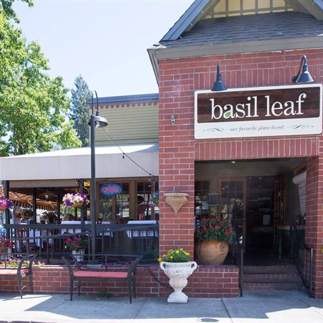 The Basil Leaf Cafe, Danville, CA
