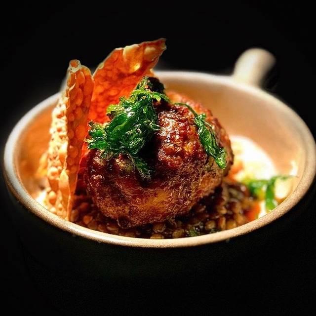 Lamb-Zucchini Meatball - Gideon Sweet, Chicago, IL