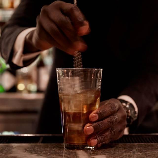 Stirring A Drink - Majorelle, New York, NY