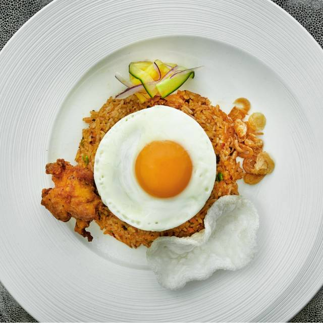 Nasi Goreng Kampung At Shangri-la Hotel, At The Shard, London - Ting Lounge, Shangri-La At The Shard, London