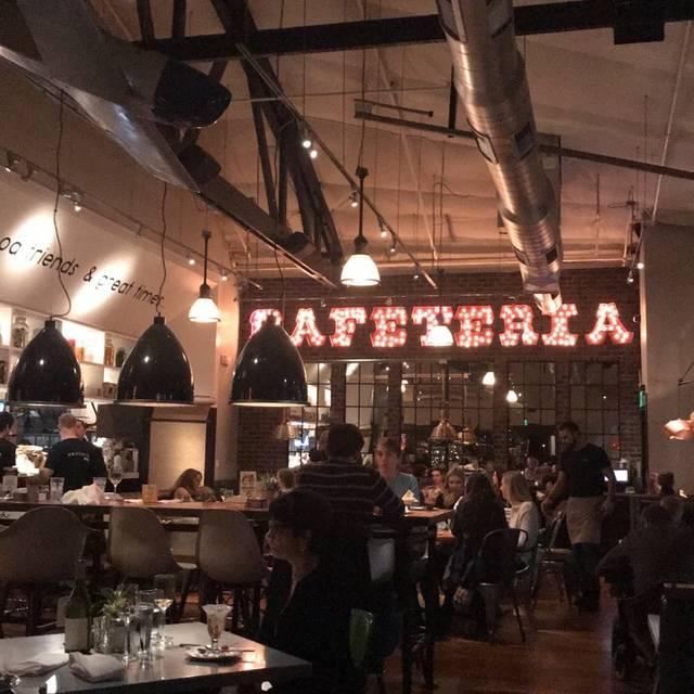 Cafeteria 15L, Sacramento, CA