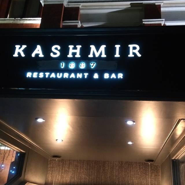 Kashmir 1887 Restaurant & Bar, Manchester