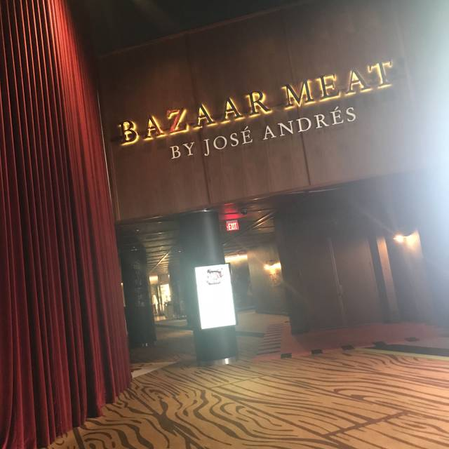 Bazaar meat by jos andr s restaurante las vegas nv for Fish by jose andres menu