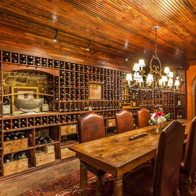 Wine cellar - Smokehouse Restaurant at Antrim 1844, Taneytown, MD