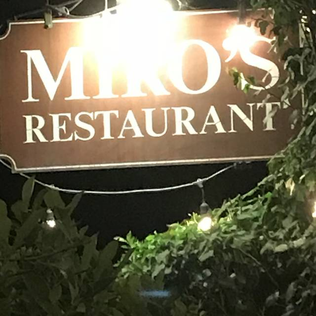 Miro's Restaurant, Palm Springs, CA