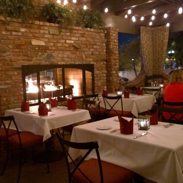Patio Fireplace - The Derby, Arcadia, CA