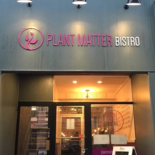 Plant Matter Bistro, London, ON