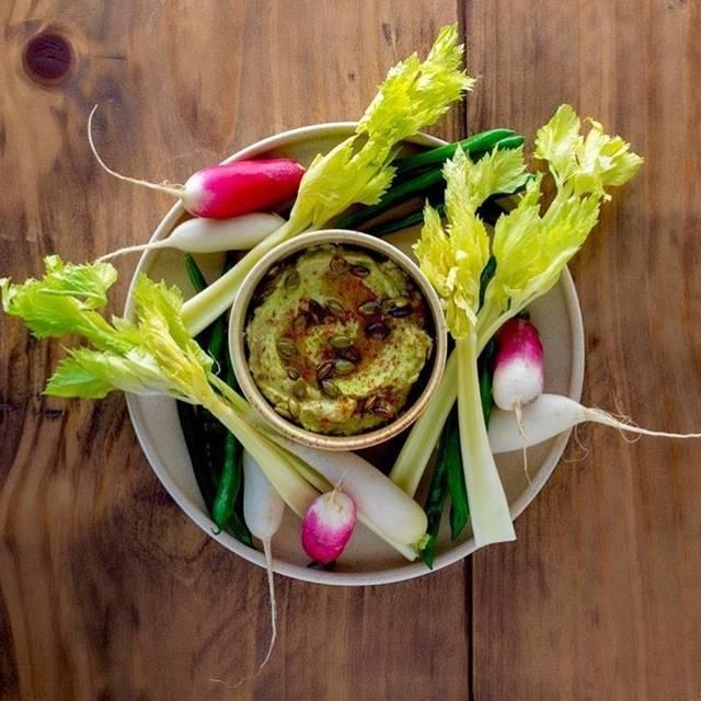 Avocado Hummus - Gideon Sweet, Chicago, IL