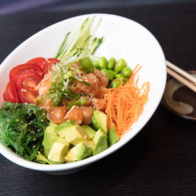 Poke Bowl With Salmon - Haru Sushi - Amsterdam Ave, New York, NY