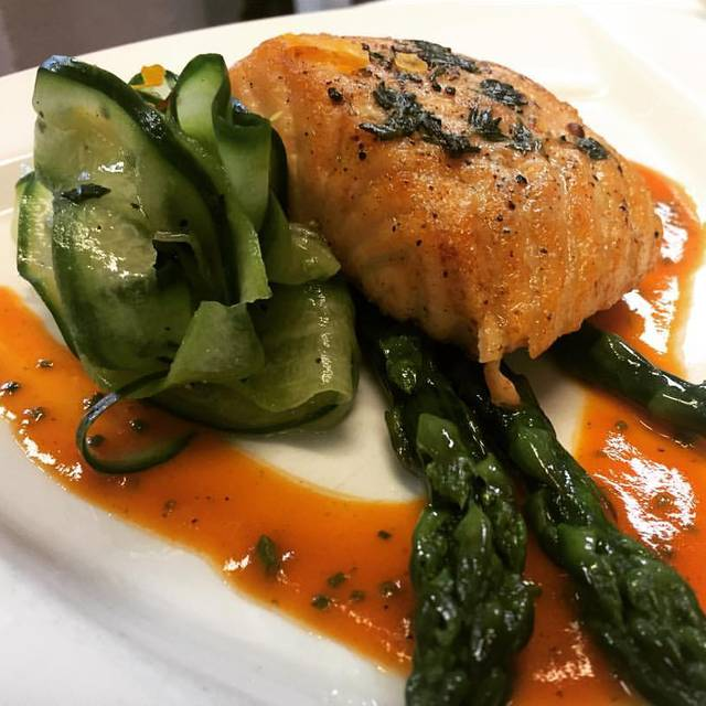 Pan Roasted Salmon Filet - Tournedos - The Inn on Broadway, Rochester, NY