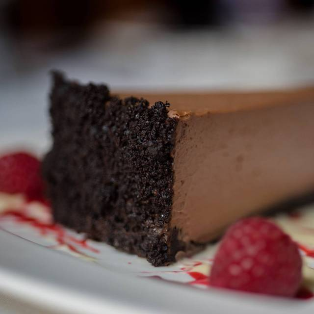 Chocolate Raspberry Cheesecake - Tournedos - The Inn on Broadway, Rochester, NY