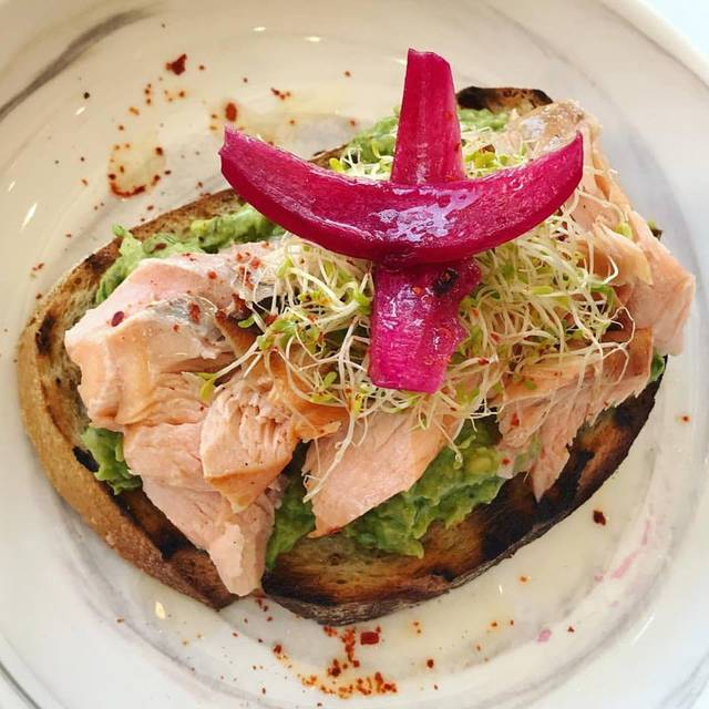 Salmon Avacado Toast - Zeugma, Montclair, NJ