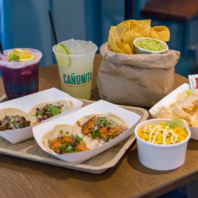 Street Taqueria Food - Cañonita, Las Vegas, NV