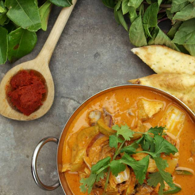 Red Thai Curry - Moxie's Grill & Bar - Houston, Houston, TX