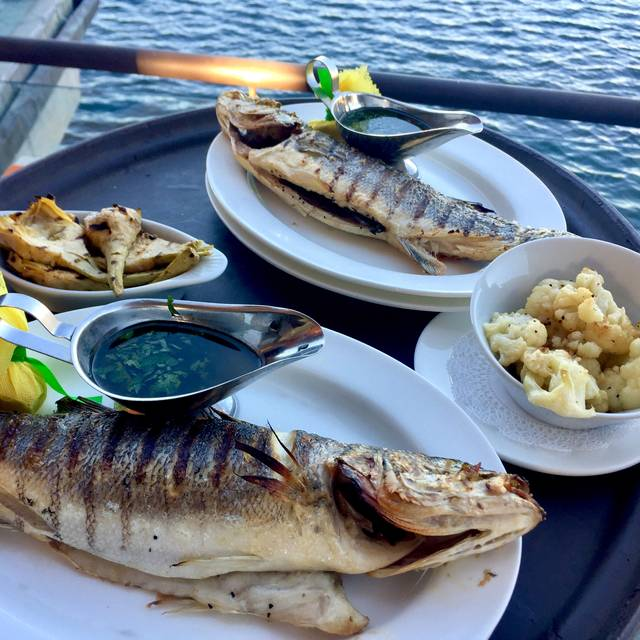Branzino Table Served - FISH Restaurant, Naples, FL