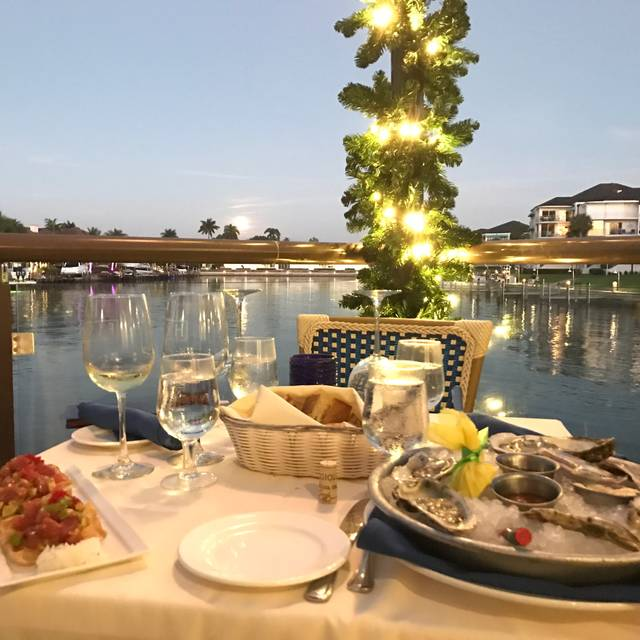 Table Waterfront View - FISH Restaurant, Naples, FL