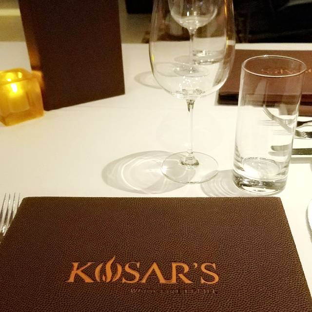 Kosar's Wood-Fired Grill, Northfield, OH