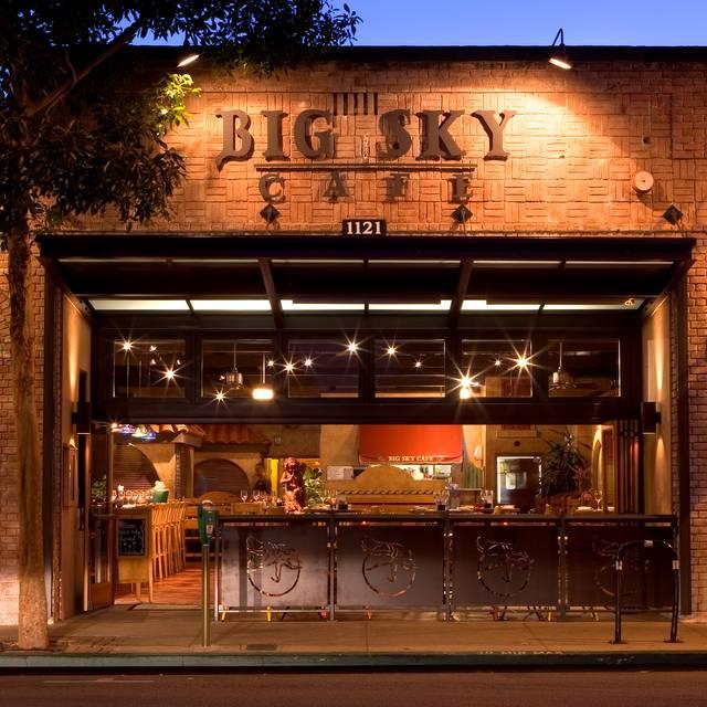 Big Sky Cafe San Luis Obispo Menu