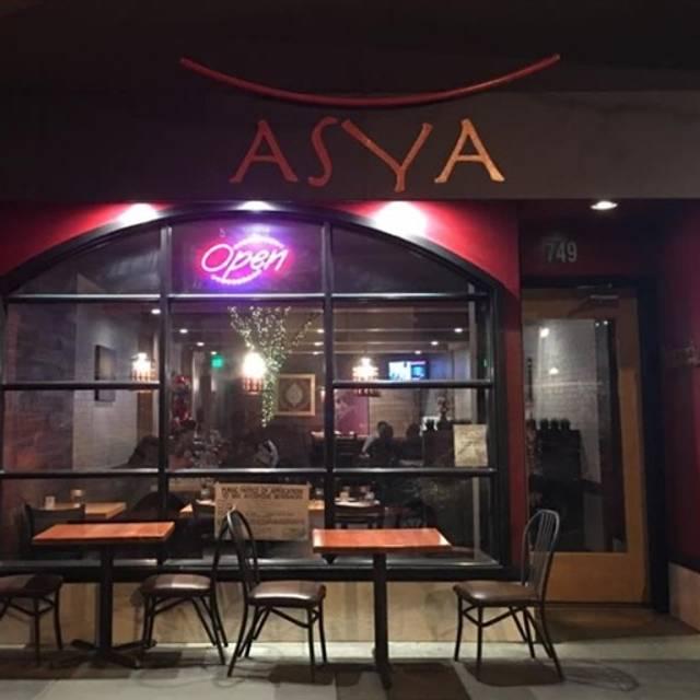 Asya, San Carlos, CA