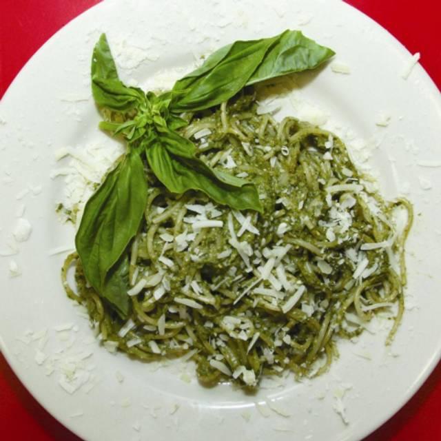 Pesto Pasta - Silvio's Organic Pizzeria, Ann Arbor, MI