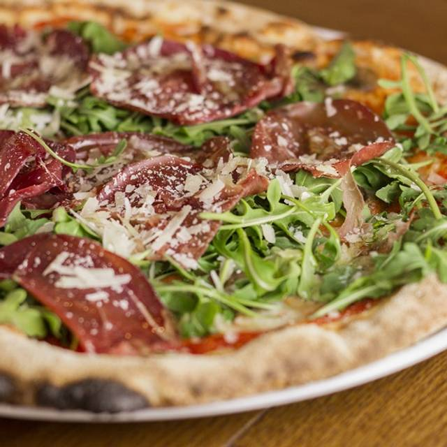 Cured Beef Pizza - Firebrand Pizza, London